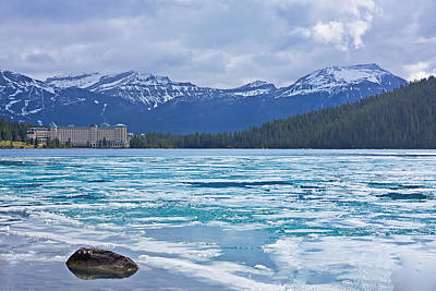 Chateau Lake Louise #2 Poster by Stuart Litoff
