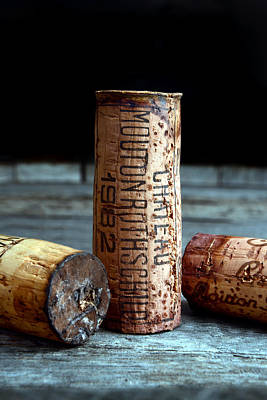 Chateau Mouton Rothschild Cork Poster