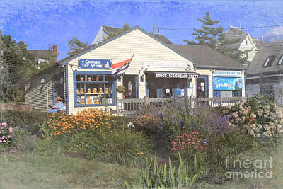Chatham Shops Poster by Jayne Carney