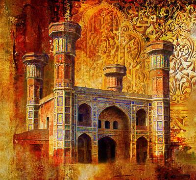Chauburji Gate Poster by Catf