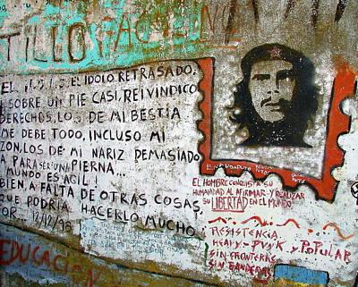 Che Guevara Poster by Ramona Johnston