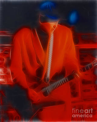 Cheap Trick-93-rick-1-fractal Poster by Gary Gingrich Galleries