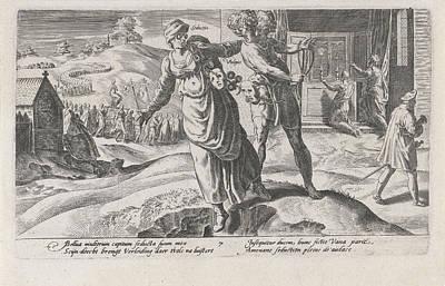 Cheats Leading The Nation To Ruin, Print Maker Dirck Poster by Dirck Volckertsz Coornhert And Adriaan De Weerdt And Hendrick Hondius I