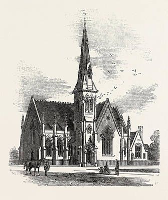 Chelsea New Congregational Church, Markham Square Poster