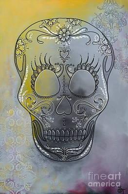Chelsea Sugar Skull Poster