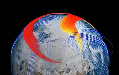 Chelyabinsk Meteor Explosion Poster by Nasa's Goddard Space Flight Center