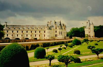 Chenonceau Castle Poster by Diana Angstadt