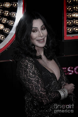 Cher Poster by Nina Prommer
