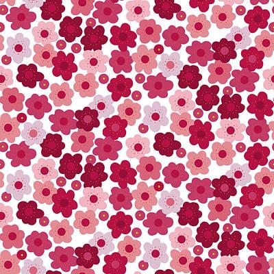 Cherry Blossom Pop Poster
