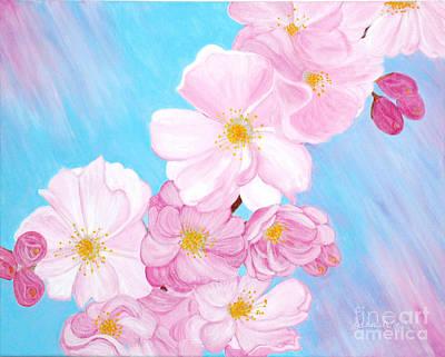 Cherry Blossom. Soul  Collection. Poster by Oksana Semenchenko