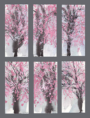Cherry Blossoms Poster by Sumiyo Toribe