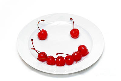 Cherry Smile Poster by Amy Cicconi