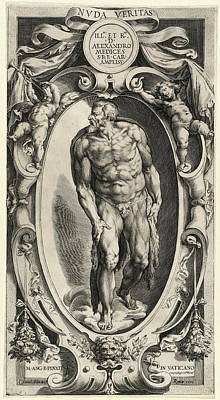 Cherubino Alberti After Michelangelo, Saint John The Baptist Poster by Quint Lox