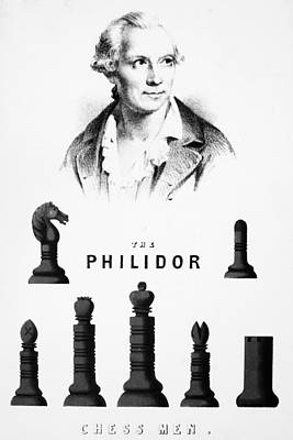 Chess, 19th Century Poster by Granger