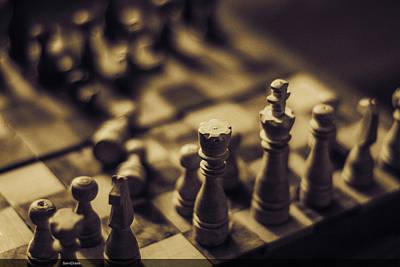 Chessmaster Poster by Diaae Bakri
