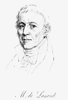 Chevalier De Lamarck (1744-1829) Poster