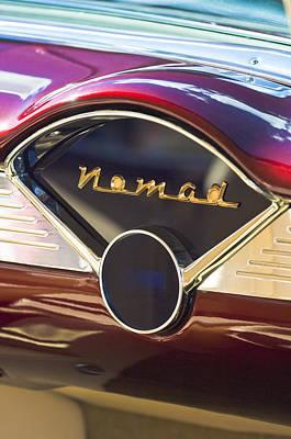 Chevrolet Belair Nomad Dashboard Poster by Jill Reger