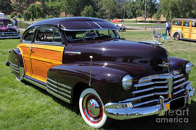 Chevrolet Fleetline Woody 5d22785 Poster