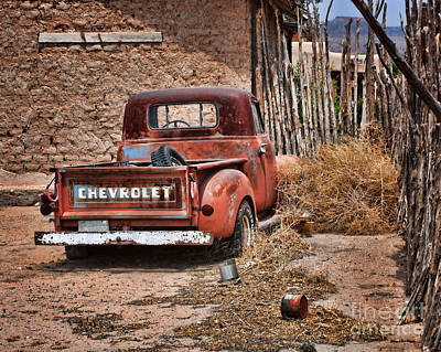 Chevrolet Pickup Poster by Nikolyn McDonald