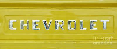 Chevrolet Pickup Tailgate Poster