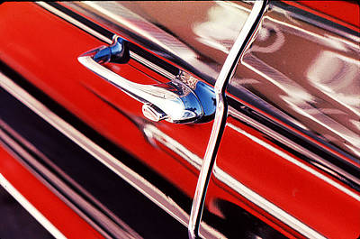 Poster featuring the photograph Chevy Or Caddie? by Ira Shander