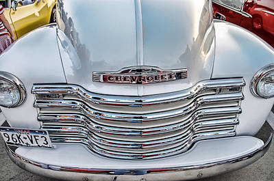 Poster featuring the photograph Chevy Pickup Classic by Dyle   Warren