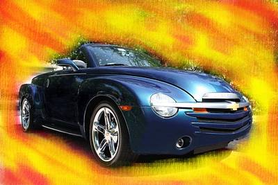 Chevy Ssr Poster by Doug Walker