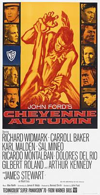 Cheyenne Autumn, Us Poster Art Poster