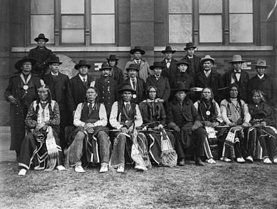 Cheyenne Delegation, 1899 Poster