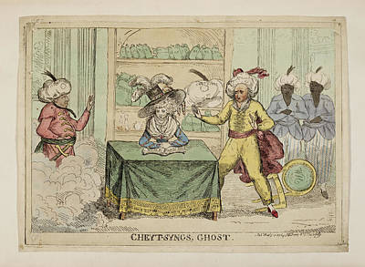 Cheyt-syngs' Ghost Poster by British Library