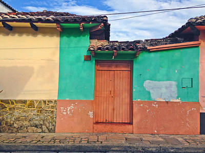 Chiapas Color Poster
