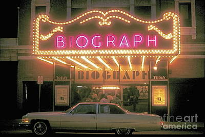 Chicago Biograph Movie Theater Poster