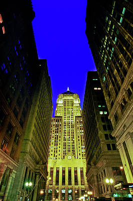 Chicago Board Of Trade Building Poster