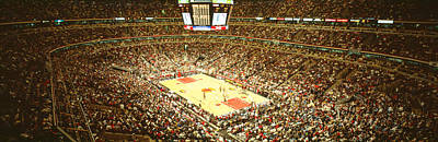 Chicago Bulls, United Center, Chicago Poster by Panoramic Images