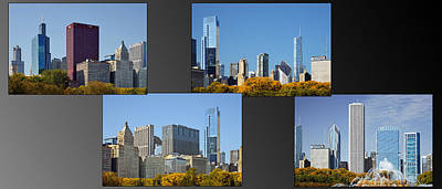 Chicago City Of Skyscrapers Poster