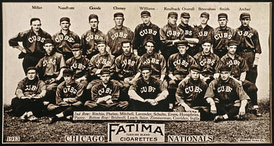 Chicago Cubs, 1913 Poster
