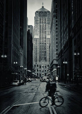 Chicago Gotham - Board Of Trade Building Poster