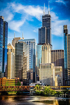 Chicago High Resolution Picture Poster by Paul Velgos