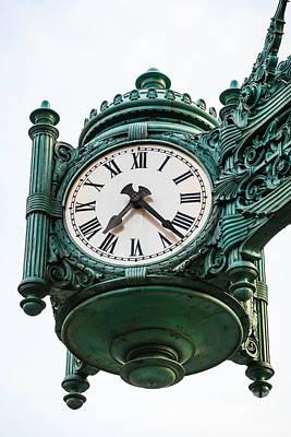 Chicago Macy's Marshall Field's Clock Poster