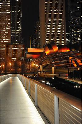 Chicago Millenium Park Poster