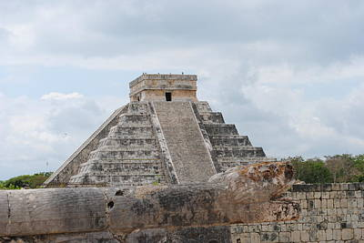 Poster featuring the photograph Chichen Itza by Robert  Moss