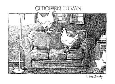 Chicken Divan Poster