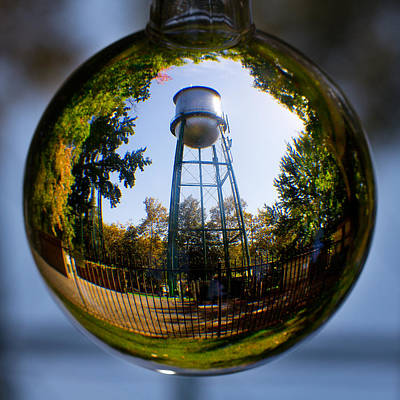 Chico Water Tower Poster