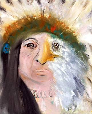 Chief Black Eagle Poster