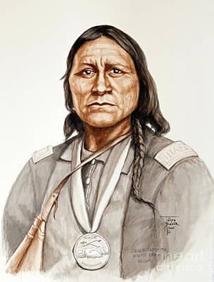 Chief Satanta Poster by Art By - Ti   Tolpo Bader