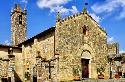 Poster featuring the photograph Chiesa Di Santa Maria Assunta by Fabrizio Troiani