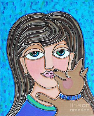 Chihuahua Kisses Poster