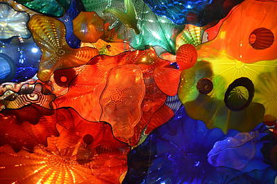 Chihuly-8 Poster by Dean Ferreira