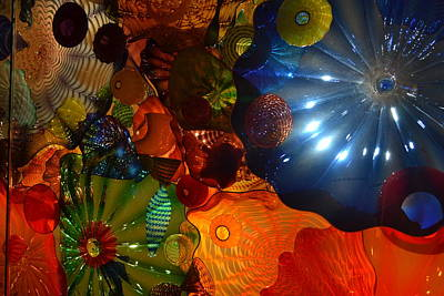 Chihuly-9 Poster by Dean Ferreira