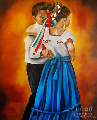 Child Dancers  Poster by Barbara  Rivera